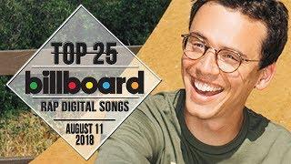 Top 25 • Billboard Rap Songs • August 11, 2018   Download-Charts