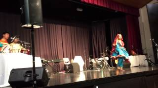 Sargam Fusion Band Performance - July 2015 (Classical dance snippet)