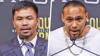 Manny Pacquiao vs. Keith Thurman FULL PRESS CONFERENCE   Fox PBC Boxing