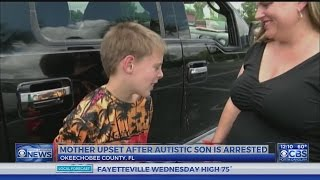 Florida mom outraged after 10-year-old son with autism arrested at school