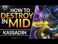 The ULTIMATE KASSADIN GUIDE: Best Tips and Tricks to CARRY and RANK UP | League of Legends Mid Guide