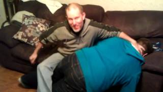 Eric Gives His 18 Year Old Son a Birthday Spanking!