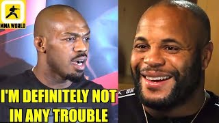 Jon Jones Reacts to getting charged with Battery for alleged Strip-Club incident,DC on Miocic II