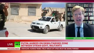 Putin & Erdogan agree Idlib buffer zone to avert new Syria crisis