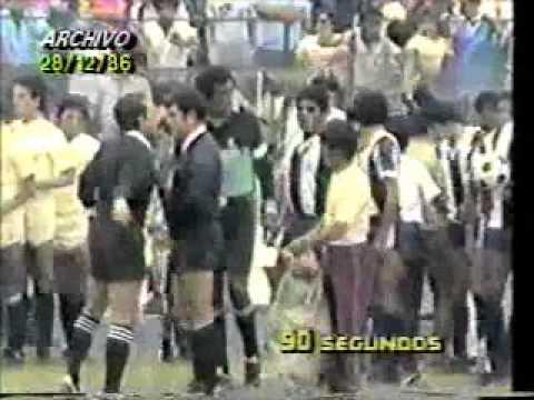 Alianza Lima 5 Universitario 1 28 12 1986 Los Potrillos