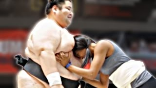Regular People Wrestle Sumo Champions
