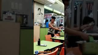 Customer na walang pang bayad pinag hugas at punas hahaha