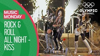 """Kiss - """"Rock and Roll All Night"""" - Salt Lake City 2002 Closing Ceremony 
