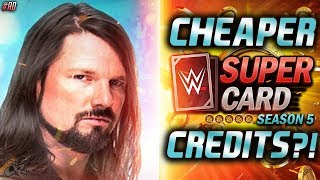 GET CHEAPER CREDITS IN WWE SuperCard SEASON 5!! #ad