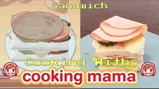 Cooking with Cooking Mama! | Sandwich