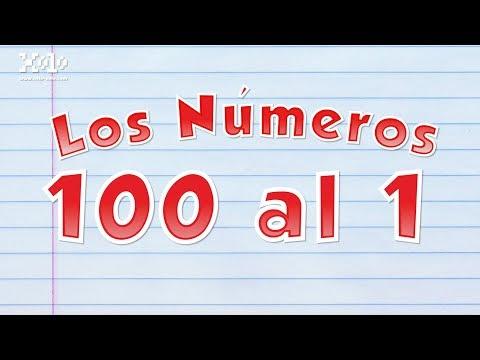 Xxx Mp4 Los Números Del 100 Al 1 En Español Para Niños Videos Aprende ⌚ 3gp Sex