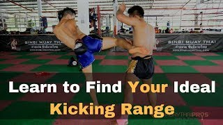 Muay Thai Beginner Tips: Finding the Right Distance When You Kick