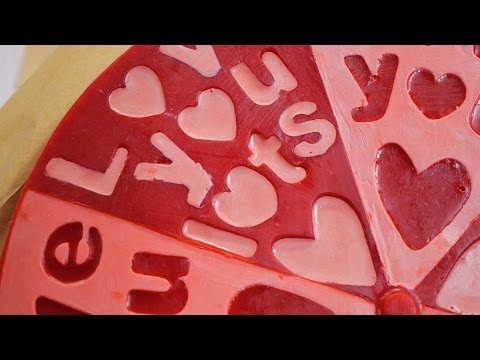 watch Lush How It's Made: Love You, Love You Lots Soap