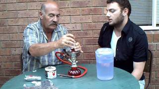 How to setup a Water Pipe(Argileh/Hookah/Sheesha)