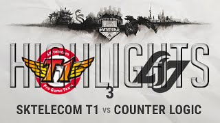 SKT vs CLG G3 Highlights Final MSI 2016 - Mid Season Invitational 2016 - CLG vs SKTelecom T1 Game 3