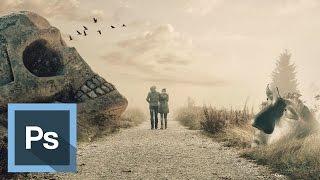 Tutorial Photoshop - Fotomontaje Post Apocalíptico
