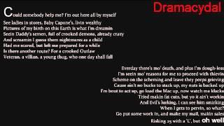 Tupac shakur - Me against the world  lyrics (Album: Me against the world)