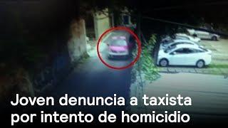 Joven denuncia a taxista que la atacó en Tlalpan - En Punto con Denise Maerker
