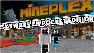 😱😱😱ESTE SKYWARS E SMUY DIFERENTE AL COMUN ⚠️ | Minecraft PE