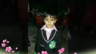 Mujy ghazi ka badla leny jana hai   pyary pyary bachy from morning star 🌟 model school 🏫 bhagwall