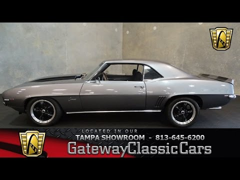Stock #639 TPA 1969 Chevrolet Camaro SS Tribute 400 CID V8 Crate 3 Speed Automatic