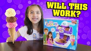 THE REAL 2-in-1 ICE CREAM MAKER!!! Will This Make Ice Cream??? Cra-Z-Art DIY with Jillian!
