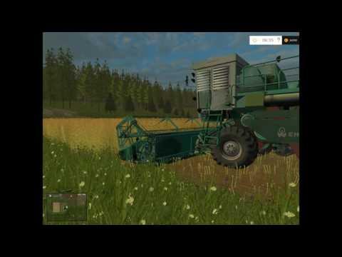 Harvesting  rape in Russia #4 | Farming Simulator 2015 Gameplay