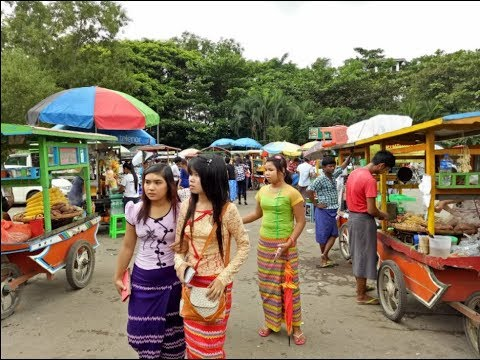 Xxx Mp4 Myanmar Culture And Traditional National Race Villages In Yangon 3gp Sex