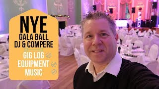 New Years Eve DJ Gig Log: Gala Ball for NYE 2018 DJ Tips