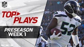 Top Plays from Preseason Week 1 | NFL Preseason Highlights
