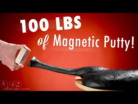 Burning Questions 100 lbs 45 kg of Magnetic Thinking Putty