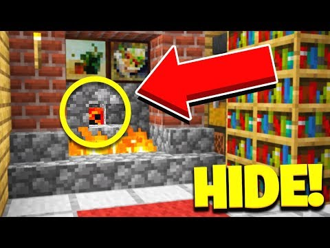 THE GOD SPOT Hide & Seek with my Little Brother Minecraft Mods