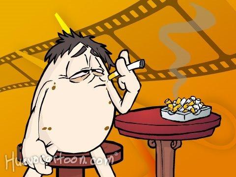 Huevocartoon Inédito Campaña contra el Cigarro