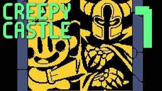 Creepy Castle - A RETRO ADVENTURE OF HOPE & DREAMS, Manly Let's Play Pt.1