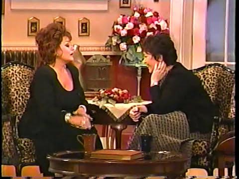 Roseanne interviews Tammy Faye Bakker 1998