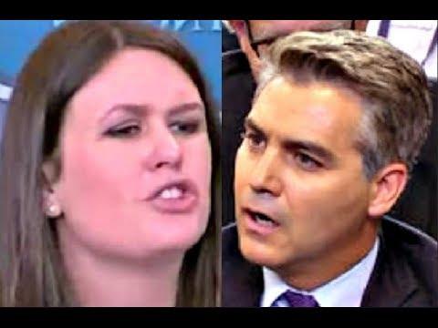 Sarah Furiously responds to CNN Jim Acosta
