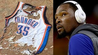 """Kevin Durant REGRETS Leaving OKC?!: """"Why the F*CK Did You Let Me Do This to My Life?"""""""