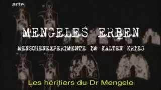 Dr Mengele et ses expérience interdite sur les Humains avant & après Guerre