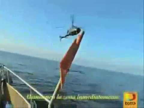 рыбаки засняли нло и преследовавших его самолетов