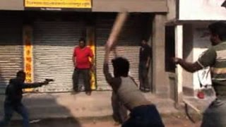 Trinamool-Congress clashes in Murshidabad