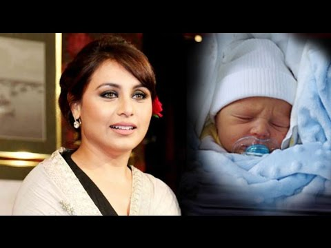 Rani Mukherjee blessed with a baby girl Adira