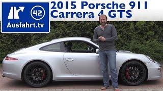 2015 Porsche 911 Carrera 4 GTS (991) - Fahrbericht der Probefahrt / Test / Review (German)