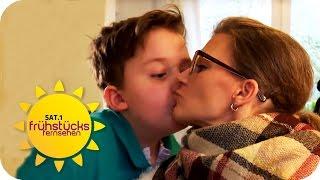 4 SCHWERKRANKE SÖHNE: Deutschlands tapferste Mutter! | SAT.1 Frühstücksfernsehen | TV