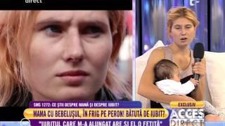 Ana Ghervașă, mama bebelușului din gară:
