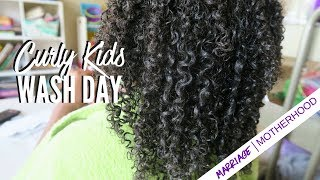 Kids Natural Hair Care Routine | Kids Natural Hairstyles | 4a Curly hair