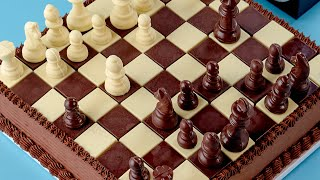 CHESS CAKE - NERDY NUMMIES