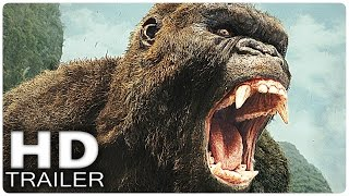 KONG SKULL ISLAND All Clips + Trailer 2017 | King Kong