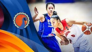 Japan v Thailand - Full Game - FIBA U16 Women