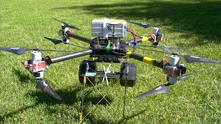 AVROTO 3520 Motors on Cine-X Octocopter