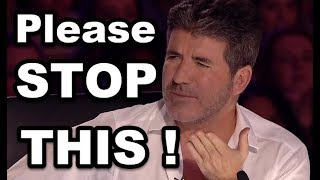 SIMON COWELL STOPS THEM and Gives SECOND CHANCE! TOP Simon